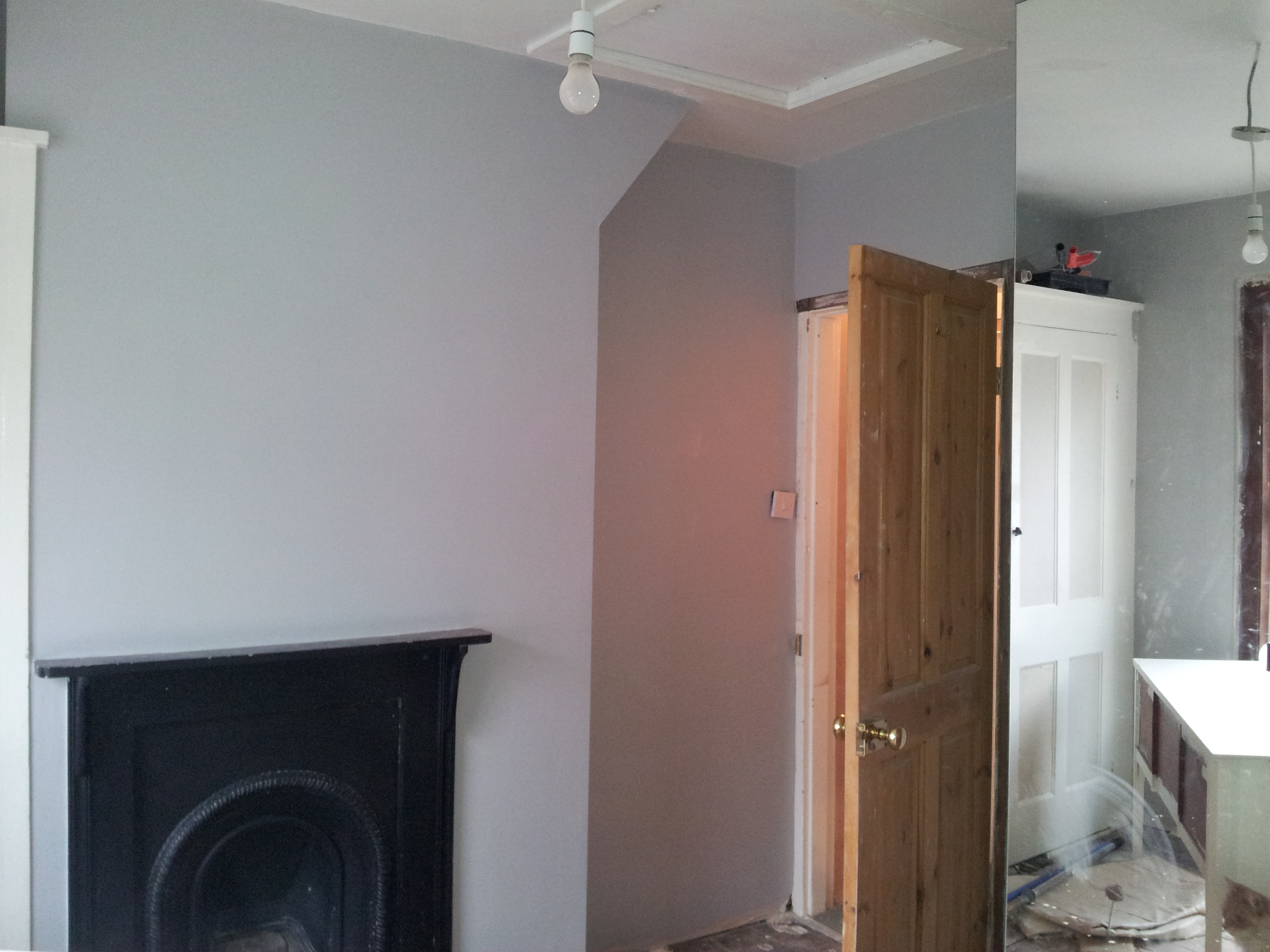 Dulux White Paint Living Room